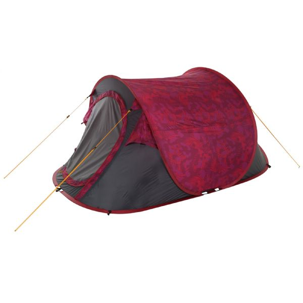Malawi 2-Man Pop Up Festival Tent Pink Tropical
